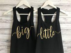 Big Little Sorority Tanks, big little sorority shirts, big lil reveal shirts, big little reveal, big little tanks, big lil gbig, sorority family shirts, big little gifts, big and little, big little shirts