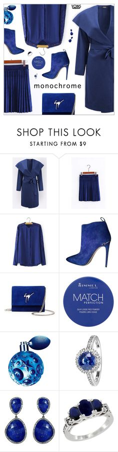 """yoins313"" by nastenkakot ❤ liked on Polyvore featuring Gucci, Giuseppe Zanotti, Rimmel, Thierry Mugler, RenéSim, Susan Hanover, yoins, yoinscollection and loveyoins"