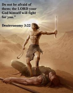 DEUTERONOMY 3:22  22. Don't fear the kings of these lands, because the   Lord your God will fight for you.