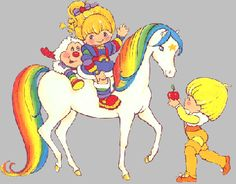 Rainbow Bright, my favorite movie was Rainbow Bright and the Star Stealer