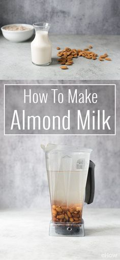 You can DIY your own almond milk and save money! Commercial nut milks are full of additives such as preservatives and stabilizers. Homemade versions taste completely different (and in my opinion, much better). If you haven't tried making almond milk from scratch, here's everything you need to know. http://www.ehow.com/how_2041161_make-almond-milk.html?utm_source=pinterest.com&utm_medium=referral&utm_content=freestyle&utm_campaign=fanpage