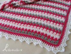 Lanas de Ana: Larksfoot Blanket