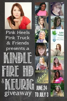 So excited to be part of this exciting prize package giveaway nearing a $550 value! Come on by and get yourself entered to win a Kindle Fire HD & Keurig system giveaway