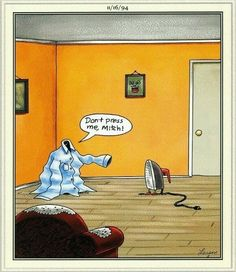 Through the brilliance and warped humor of Gary Larson, we took a look at ourselves...and cows...and we laughed.