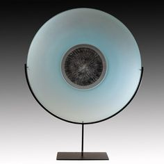 TOBIAS MØHL ::  Blue Platter on Stand
