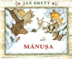 Jan Brett creates a dramatic picture book with the story of Nicki, a young boy who has lost a mitten in the snow and the animals who try to make a home of it. Jan Brett, The Snow, The Animals, Arctic Animals, Chut Je Lis, Books To Read, My Books, Story Books, Author Studies