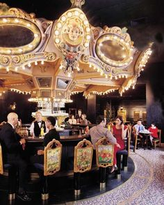 Carousel Bar and Lounge, Hotel Monteleone