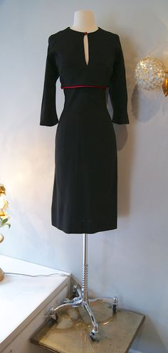 1940s Dress // Vintage 40's Pinup Wiggle Dress by xtabayvintage, $198.00