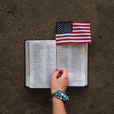 """Today we celebrate the National Day of Prayer! """"To get the nations back on their feet, we must first get down on our knees."""" Billy Graham"""