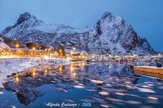 """Svolvær bay - In a few hours I will leave Italy, towards my new adventure in Lofoten Island. Looking at  old photos over the years , I've found this picture of the Svolvær bay, that I want to share with you. Follow me : <a href=""""http://www.facebook.com/alfredocostanzophotography""""> My Facebook Page ✔ </a> --- <a href=""""http://www.alfredocostanzo.it/""""> My Website ✔ </a> --- <a href=""""http://stock.clickalps.com/photographer/Alfredo-Costanzo""""> My Online Stock ✔ </a>"""