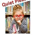 """Very+cute+eye-catching+""""Quiet+Please!+We+are+Testing+Sign"""" Just+print+and+post+on+your+door+whenever+your+class+is+testing.+This+can+be+used+during..."""