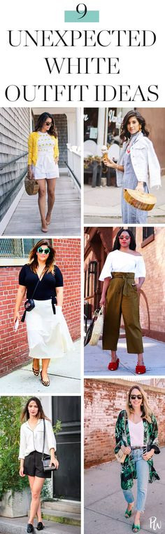 f44314cdc30 9 Unexpected Ways to Wear White This Summer  purewow  summer  shopping   outfit