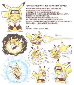 Crossover Naruto e Pokémon Hyuuga Neji Otaku Anime, Naruto Anime, Naruto Comic, Naruto Cute, Naruto Funny, Manga Anime, Pokemon Crossover, Anime Crossover, Naruto Shippuden Characters