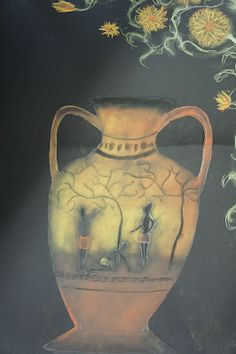 Kaarisillan kuvataide, hiili+pastelli Primary School Art, Art School, Pastel Crayons, Ancient Greek, Historian, Art Lessons, Greece, Painting, Teaching