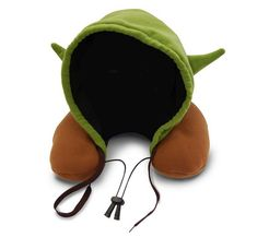 Star Wars Yoda Hooded Neck Travel Pillow