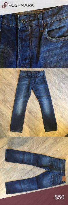 Scotch & Soda Men's Dark denim jeans Designer Scotch & Soda Men's Jean * BRAND NEW !! NEVER BEEN WORN Scotch & Soda Jeans Slim Straight