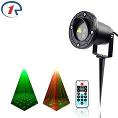 ZjRight IR Remote Sky firefly stars Red Green effect laser lights waterproof outdoor projection laser stage light dj disco light #Affiliate