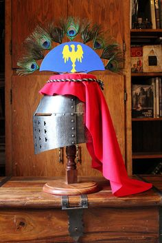 Bolzano style great helm with crest | Flickr - Photo Sharing!