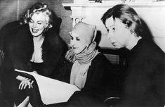 Marilyn Monroe, Karen Blixen-Finecke (aka Isak Dinesen) and Carson McCullers,