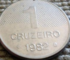 Moedas brasileiras - 1982 Fountain Pen, Stuff To Do, Internet, Stamp, Vintage, Rare Coins, Stop It, Report Cards, Historia
