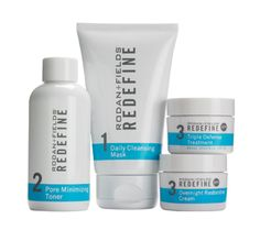 REDEFINE Regimen for minimizing wrinkles and firming skin