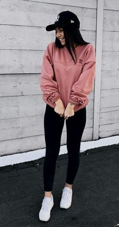 teenager outfits for school - teenager outfits ; teenager outfits for school ; teenager outfits for school cute Teenager Outfits, Teenager Mode, Cute Teen Outfits, Teen Fashion Outfits, Fashion Fashion, Cute Outfits With Leggings, Fashion Ideas, Gym Outfits, Teenage Outfits For School
