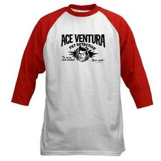 85303a566 Ace Ventura Pet Detective Baseball Jersey Mighty Girl