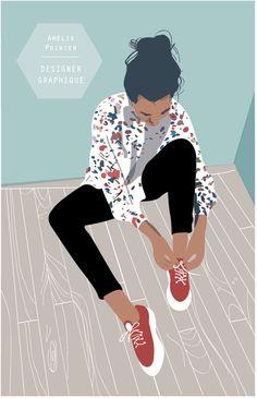 Illustration - © Amelie Poirier - http://poirieramelie.blogspot.fr
