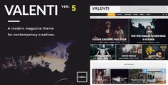 Valenti v5.5 is a cutting-edge, feature-rich WordPress premium HD (retina-ready) review magazine theme that is fully-responsive. Using the exclusive Valenti Drag & Drop Builder users can have fun creating a unique homepage and easily make modifications to it any time they wish. With...