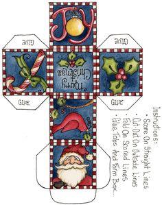 Ideas Manualidades Navidad recorta y arma tu arbolito navideño de forma fácil para bajar armar recortar colorear
