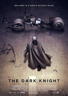 Dark Knight por Sahin Duzgun.