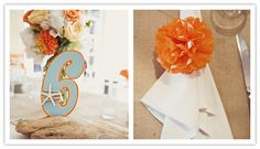 Great Colors for a beachy wedding