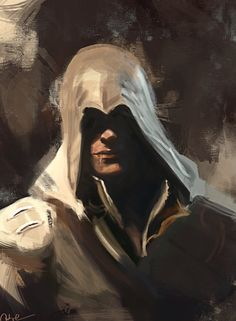 Smirking Ezio by WisesnailArt on DeviantArt Assassins Creed Series, Assassins Creed Unity, All Assassin's Creed, Assasing Creed, Connor Kenway, Art Anime, Popular Culture, The Darkest, Fantasy