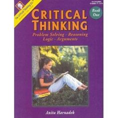 """added to """"Pin it and you may win it """" contest board! Critical Thinking Book 1- Set. Yellow House Book Rental"""