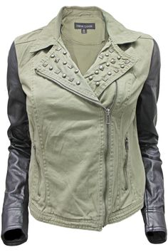 Army Moto Jacket