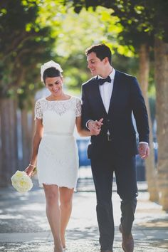 City hall wedding dress inspiration for unique brides - Wedding Party