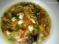 Chicken Tortilla Soup from Cancun's in Cincinatti Oh. Chicken Tortilla Soup, Thai Red Curry, A Table, Zucchini, Delish, Cabbage, Meat, Vegetables, Ethnic Recipes