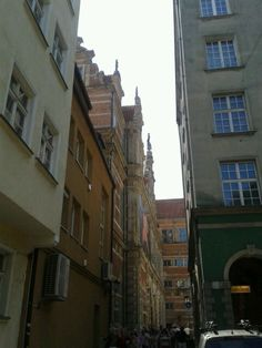 Streets in Gdańsk