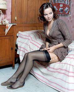 Laura Antonelli / production stills from Salvatore Samperi's Malizia [English title: Malicious] (1973)
