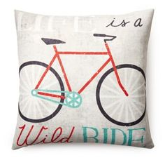 """Life is"" 20x20 Pillow, Multi"