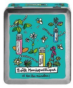Boîte Homéopathie et toc les microbes!
