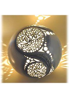 Lampes  poser en céramique ajourée Keramika Pinterest