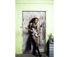 Malina Moye Left Handed Fender Stratocaster, Women In Music, Guitar Players, Jimi Hendrix, Rock And Roll, Photo Galleries, World, Gallery, Lady