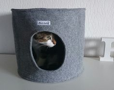Cueva para gatos Drop cama para gatos 100% lã