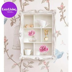 Arthouse Cluster Shelves in White by The French Bedroom Company. £99