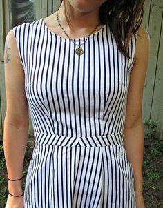 A Stripey Belladone by LLADYBIRD | Project | Sewing / Dresses | Kollabora