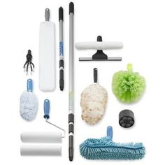 Extendable Pole Cleaning Systems