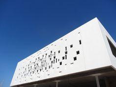 GCR Facade by Carlos Morales Arquitectos in Marina Lanzarote