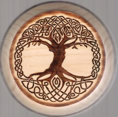 Image result for Tree of life pyrography