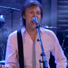 Paul McCartney Plays Three Songs on 'Fallon'